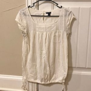 American Eagle Outfitters Small Top w/ tie detail